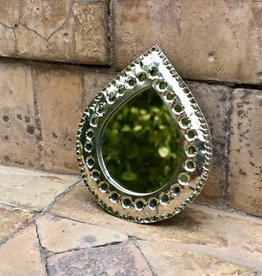 Riadlifestyle Silver mirror from Morocco small