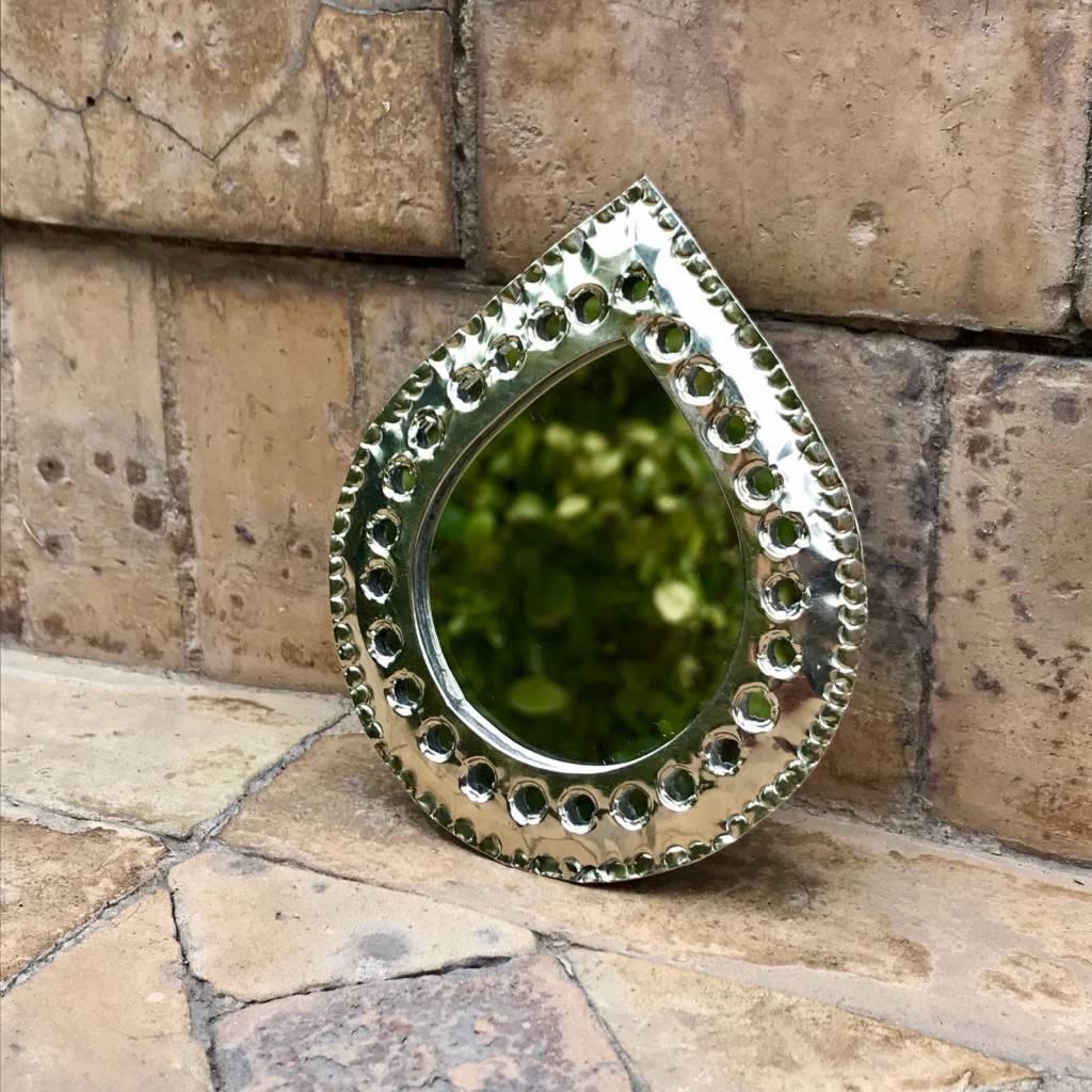 Riadlifestyle Silver mirror from Morocco