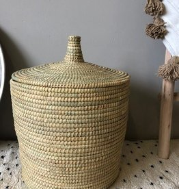 Riadlifestyle Moroccan basket Naturel medium
