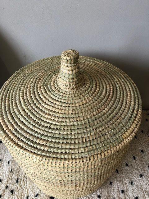Riadlifestyle Moroccan basket  Naturel medium