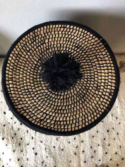 Riadlifestyle Moroccan basket L black