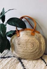 Riadlifestyle Moroccan wicker basket Orange