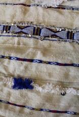 Riadlifestyle Vintage Moroccan Handira blue
