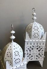 Riadlifestyle Moroccan Lantern White M