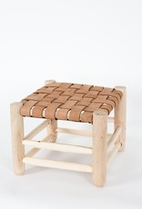 Riadlifestyle Moroccan stool leather