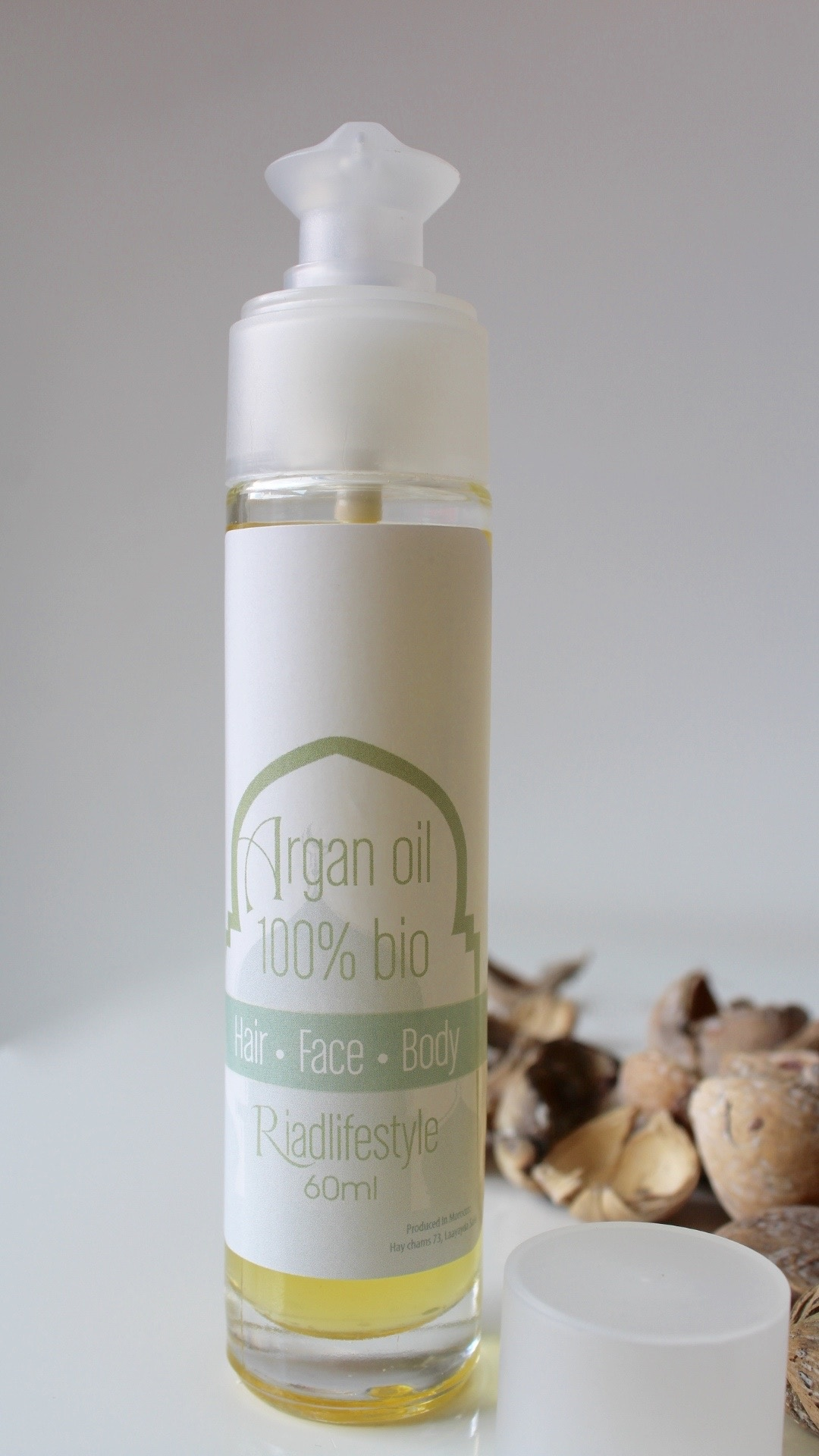 Riadlifestyle Argan oil 100% bio