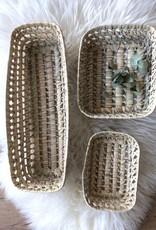 Riadlifestyle Marokkaanse mandje hand gevlochten
