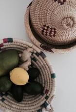Riadlifestyle Moroccan bread basket  purple