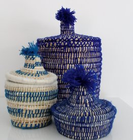 Riadlifestyle Moroccan basket Mini turqoise
