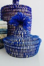 Riadlifestyle Moroccan basket Mini blue
