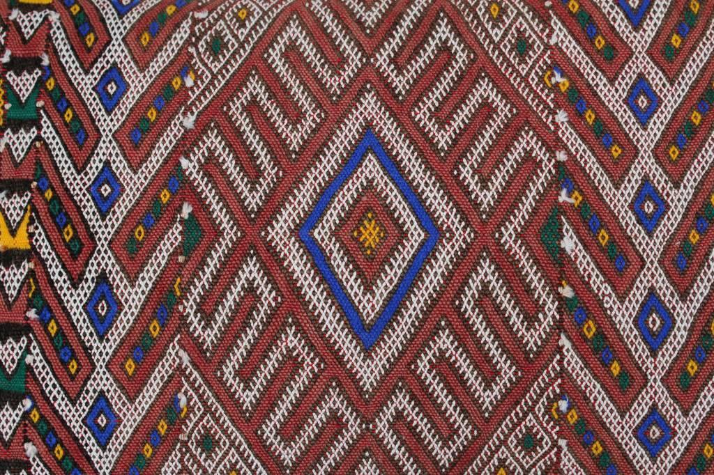 Riadlifestyle Marokkaans berber kelim kussen
