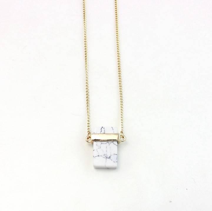 Riadlifestyle Marble halsketting