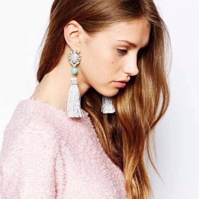 Riadlifestyle Trendy earrings with brushes