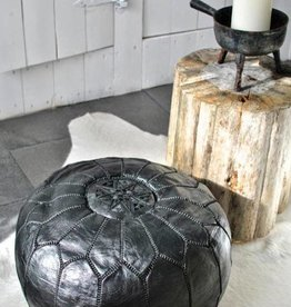 Riadlifestyle Moroccan pouf black