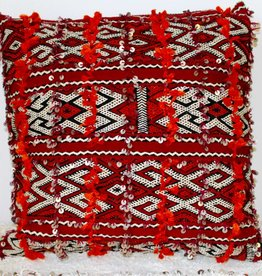 Riadlifestyle Prachtige vintage berber kelim kussen!