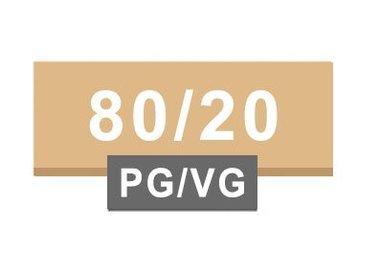 80/20 PG / VG