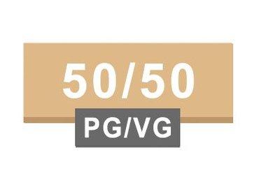 50/50 PG / VG