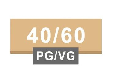 40/60 PG / VG