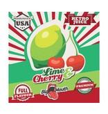 Big Mouth Retro Juice Aroma - Lime & Cherry