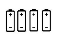 Mod met 4 Batterijen