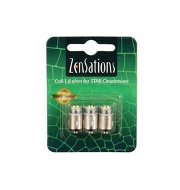 Zensations Star Coil 1.6 Ohm 3Pcs