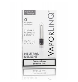 Vaporlinq Cartridge Neutral Delight 5 Pcs