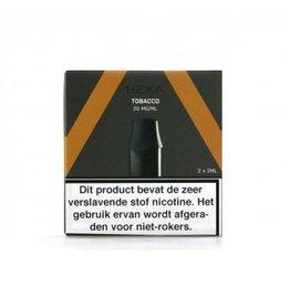 Hexa pod (2 stuks) - Tabak
