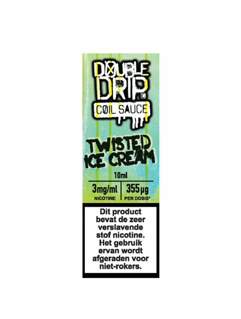 Double Drip - Twisted Ice Cream (High VG)