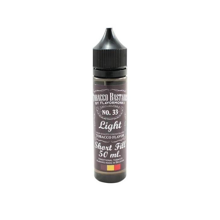 Flavormonks - Tobacco Bastards NO. 33 Light