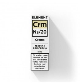 NL- Element - Nic Salts - Crema - Ns / 20MG