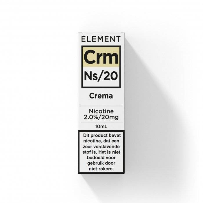 Element - Nic Salts - Crema