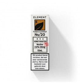 NL - Element - Nic Salts - Honey Roasted Tobacco - Ns / 20MG