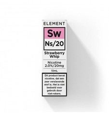 Element - Nic Salts - Strawberry Whip - Ns / 20MG