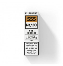 Element - Nic Salts - 555 Tobacco