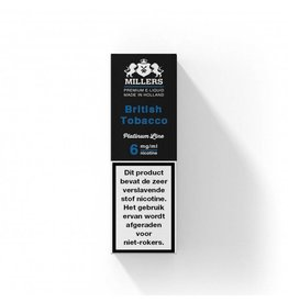 Millers Platinum - British Tobacco