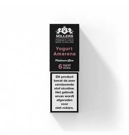Millers Juice Platinumline - Yogurt Amarena