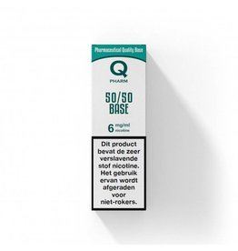 Qpharm Base 50% PG / 50% VG