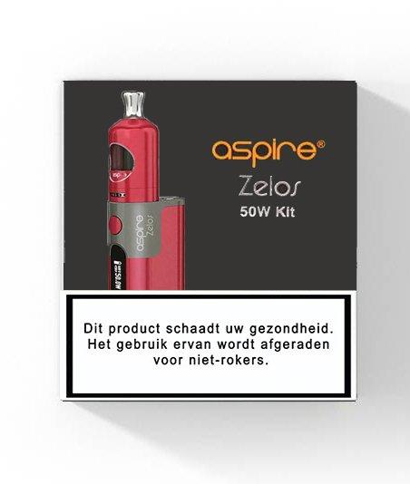Aspire Zelos Starterset - 2500mAh