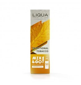 Liqua Mix & Go - Traditioneller Tabak - 50ml