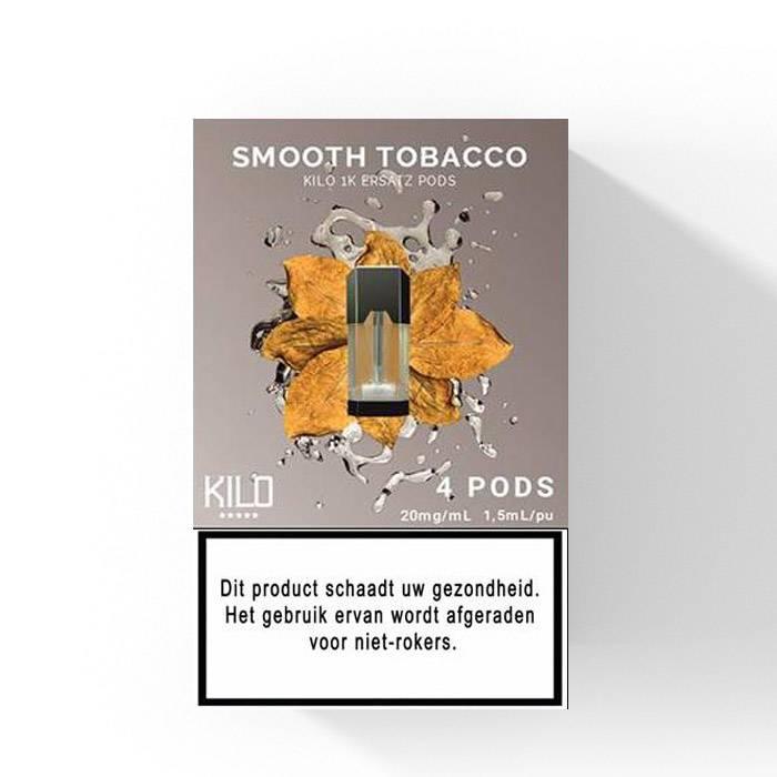 Kilo 1K - Glatte Tabakschoten 3St