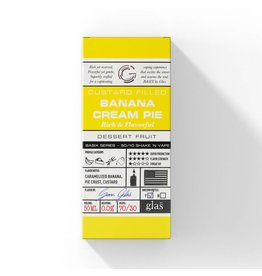 Glass Basix - Banana Cream Pie 60ML S & V