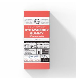 Glas Basix - Strawberry Gummy 60ML S&V
