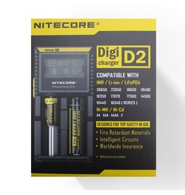 Nitecore Digicharger D2 oplader