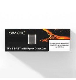 SMOK TFV8 Baby Mini pyrex glas 2ml