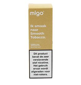Migo - Glatter Tabak (Nic Salt)