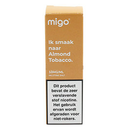 Migo - Almond Tobacco (Nic Salt)