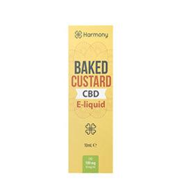 CBD Harmony Baked Vanillepudding