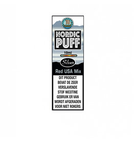 Nordic Puff Silver - Red USA Tobacco Mix