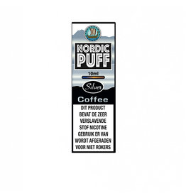 Nordic Puff Silver - Kaffee