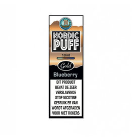 Nordic Puff Gold - Blueberry